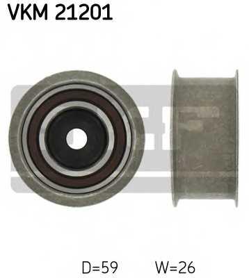 Паразитный / ведущий ролик зубчатого ремня SKF VKM 21201 - изображение