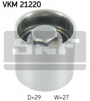 Паразитный / ведущий ролик зубчатого ремня SKF VKM 21220 - изображение