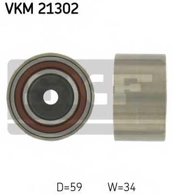 Паразитный / ведущий ролик зубчатого ремня SKF VKM 21302 - изображение