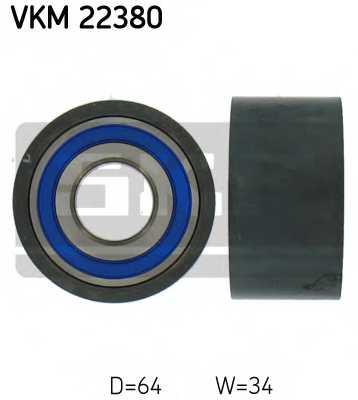 Паразитный / ведущий ролик зубчатого ремня SKF VKM 22380 - изображение