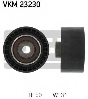 Паразитный / ведущий ролик зубчатого ремня SKF VKM 23230 - изображение