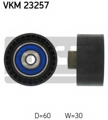 Паразитный / ведущий ролик зубчатого ремня SKF VKM 23257 - изображение