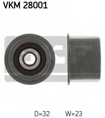 Паразитный / ведущий ролик зубчатого ремня SKF VKM 28001 - изображение