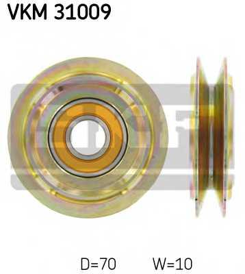 Паразитный / Ведущий ролик клинового ременя SKF VKM 31009 - изображение