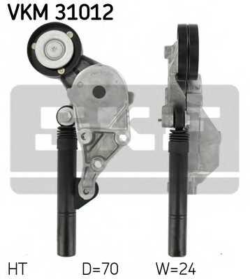 Натяжной ролик поликлиновогоременя SKF VKM 31012 - изображение