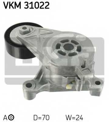 Натяжной ролик поликлиновогоременя SKF VKM31022 - изображение