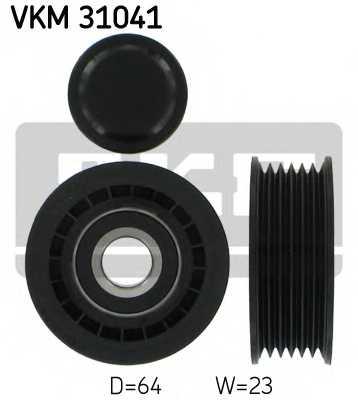 Паразитный / ведущий ролик поликлинового ременя SKF VKM 31041 - изображение