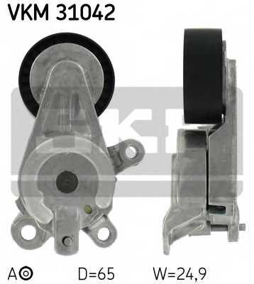 Натяжной ролик поликлиновогоременя SKF VKM 31042 - изображение