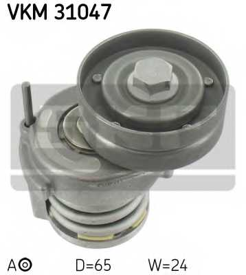 Натяжной ролик поликлиновогоременя SKF VKM 31047 - изображение
