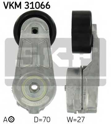 Натяжной ролик поликлиновогоременя SKF VKM 31066 - изображение