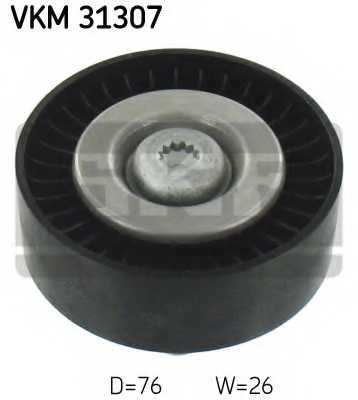 Паразитный / ведущий ролик поликлинового ременя SKF VKM31307 - изображение