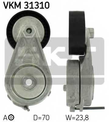 Натяжной ролик поликлиновогоременя SKF VKM 31310 - изображение