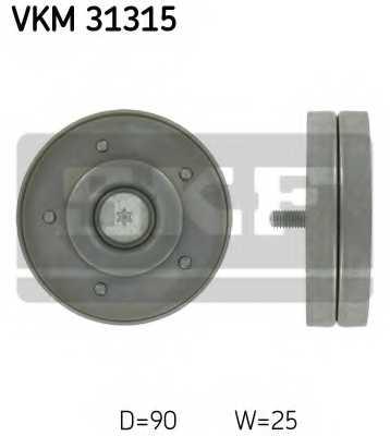 Паразитный / ведущий ролик поликлинового ременя SKF VKM 31315 - изображение