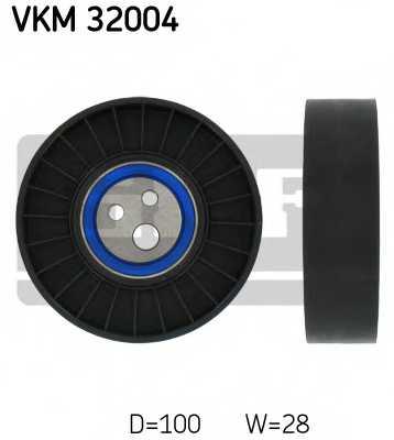 Паразитный / ведущий ролик поликлинового ременя SKF VKM 32004 - изображение