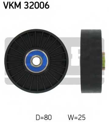 Паразитный / ведущий ролик поликлинового ременя SKF VKM 32006 - изображение