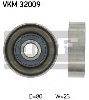 Паразитный / ведущий ролик поликлинового ременя SKF VKM 32009 - изображение