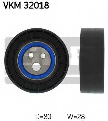 Паразитный / ведущий ролик поликлинового ременя SKF VKM 32018 - изображение