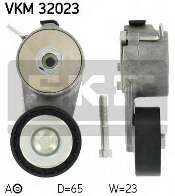Натяжной ролик поликлиновогоременя SKF VKM32023 - изображение