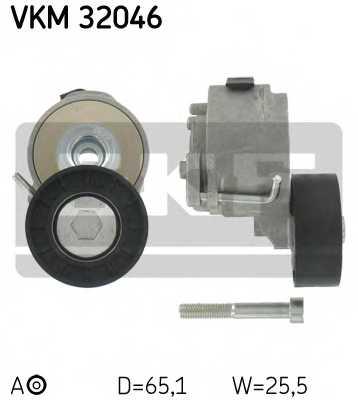 Натяжной ролик поликлиновогоременя SKF VKM 32046 - изображение