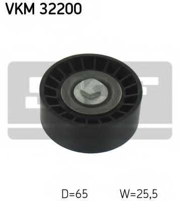 Паразитный / ведущий ролик поликлинового ременя SKF VKM 32200 - изображение