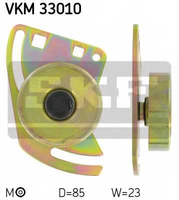 Натяжной ролик поликлиновогоременя SKF VKM 33010 - изображение