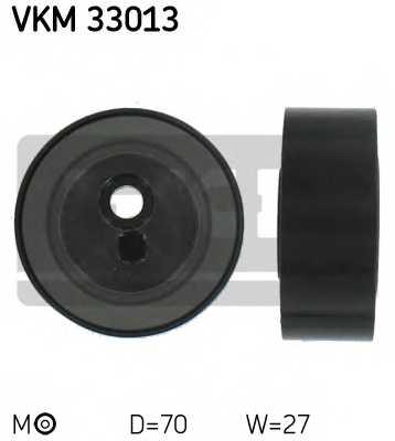Натяжной ролик поликлиновогоременя SKF VKM 33013 - изображение