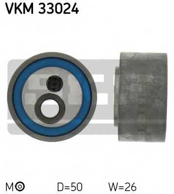 Натяжной ролик поликлиновогоременя SKF VKM 33024 - изображение