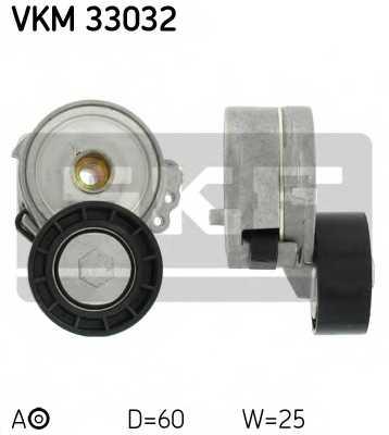 Натяжной ролик поликлиновогоременя SKF VKM 33032 - изображение