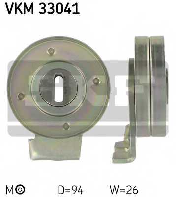 Натяжной ролик поликлиновогоременя SKF VKM 33041 - изображение