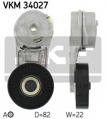 Натяжной ролик поликлиновогоременя SKF VKM 34027 - изображение
