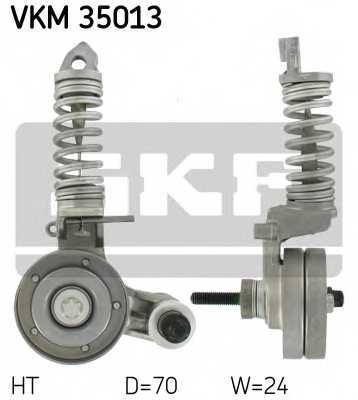 Натяжной ролик поликлиновогоременя SKF VKM 35013 - изображение
