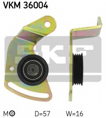 Натяжной ролик поликлиновогоременя SKF VKM36004 - изображение