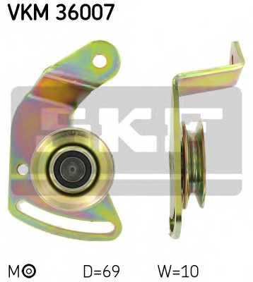 Натяжной ролик, клиновой ремень SKF VKM 36007 - изображение