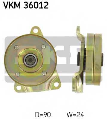 Паразитный / ведущий ролик поликлинового ременя SKF VKM 36012 - изображение