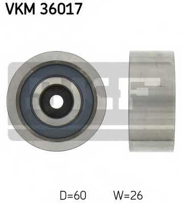 Паразитный / ведущий ролик поликлинового ременя SKF VKM 36017 - изображение