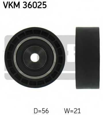 Паразитный / ведущий ролик поликлинового ременя SKF VKM 36025 - изображение