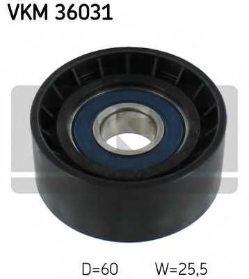 Паразитный / ведущий ролик поликлинового ременя SKF VKM 36031 - изображение