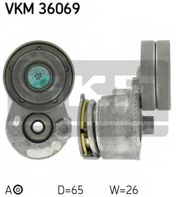 Натяжной ролик поликлиновогоременя SKF VKM 36069 - изображение