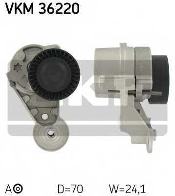 Натяжной ролик поликлиновогоременя SKF VKM 36220 - изображение