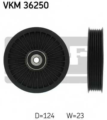 Паразитный / ведущий ролик поликлинового ременя SKF VKM 36250 - изображение