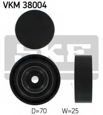 Паразитный / ведущий ролик поликлинового ременя SKF VKM 38004 - изображение