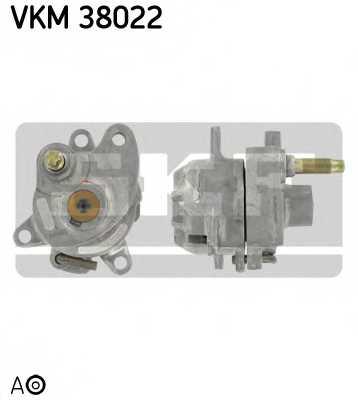 Натяжной ролик поликлиновогоременя SKF VKM 38022 - изображение