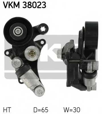Натяжной ролик поликлиновогоременя SKF VKM 38023 - изображение