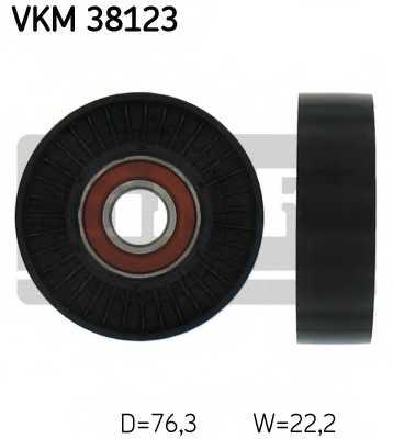 Натяжной ролик поликлиновогоременя SKF VKM 38123 - изображение