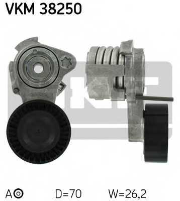 Натяжной ролик поликлиновогоременя SKF VKM 38250 - изображение