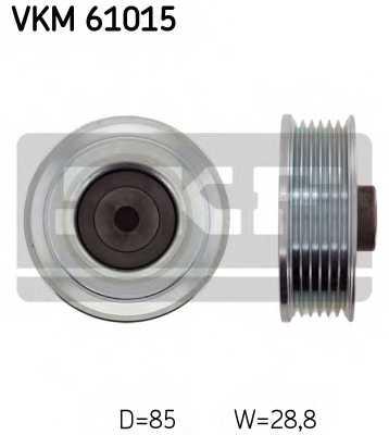 Паразитный / ведущий ролик поликлинового ременя SKF VKM 61015 - изображение