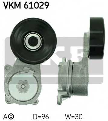 Натяжной ролик поликлиновогоременя SKF VKM 61029 - изображение