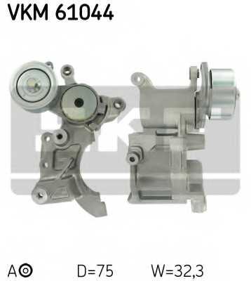 Натяжной ролик поликлиновогоременя SKF VKM61044 - изображение