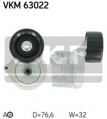 Натяжной ролик поликлиновогоременя SKF VKM 63022 - изображение