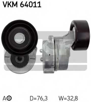 Натяжной ролик поликлиновогоременя SKF VKM 64011 - изображение